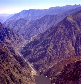 Hells Canyon in Wallowa County, Oregon