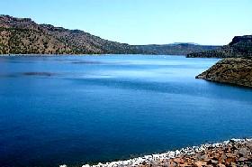 Prineville Reservoir at Bowman Dam, Oregon