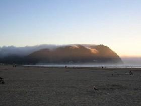 Seaside, Oregon fog