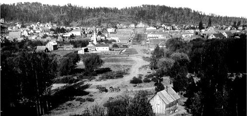 Sumpter, Oregon before the 1917 Fire