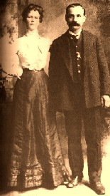 Harvey Logan and Annie Rogers between 1890 and 1894.