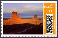 Scenery Postage Stamp