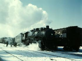 Atchison, Topeka & Santa Fe Railroad, Chicago, JackDelano, 1943