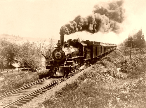 how trains impacted america essay