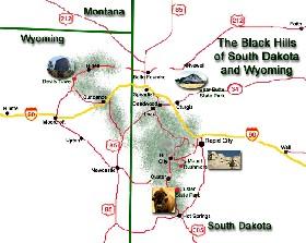 Black Hills Map