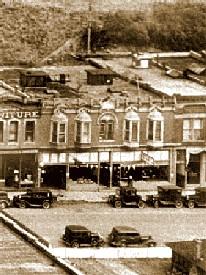 Bullock-Clark Building in Deadwood, South Dakota in 1925