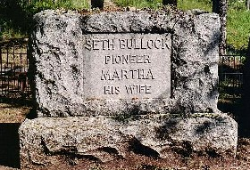 The Bullock grave at Mt. Moriah Cemetery in Deadwood,