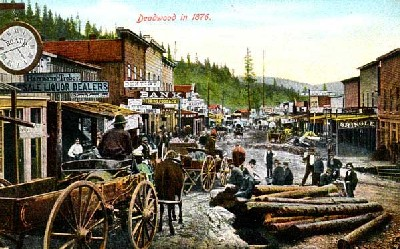 Deadwood in 1876.