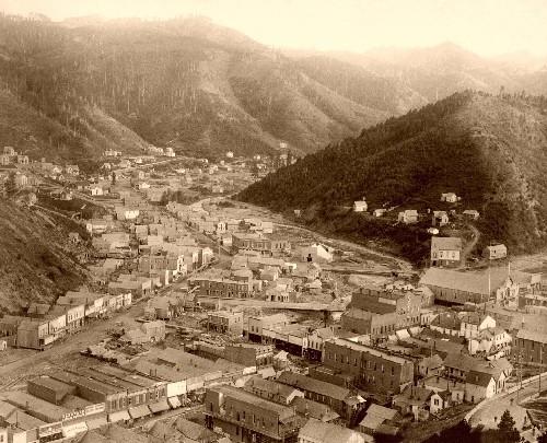 Deadwood From Mt. Moriah, 1888