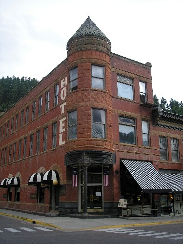 The Fairmont Hotel in Deadwood, South Dakota