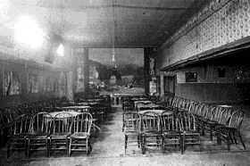 The Interior of the Gem Theater, 1880.
