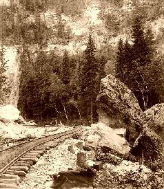 Signal Rock in Elk Canyon, Black Hills, South Dakota,