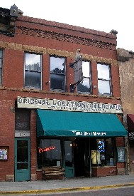 Original site of Number 10 Saloon in Deadwood, South Dakota