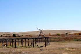 Wounded Knee Battlefield, South Dakota, Kathy Weiser-Alexander September 2011