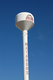 MidPoint Water Tower in Adrian, Texas