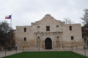 The Alamo today