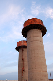 Water towers, Amarillo Air force base