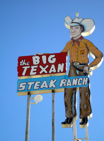 The Big Texan Steak Ranch, Amarillo, Texas