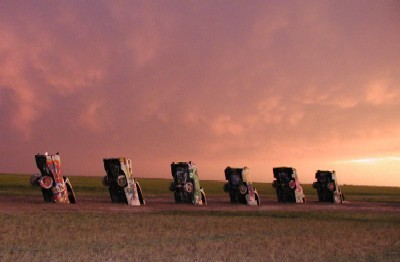 Cadillac Ranch Amarillo Texas