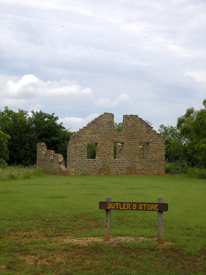 Ruins of the Sutler's Store at Fort Griffin, Texas