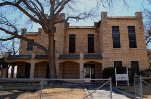 Old Jail in Fort Stockton. Photo by Kathy Weiser-Alexander, 2011.