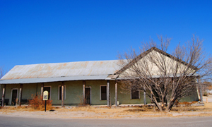 Youngs Store, Fort Stockton. Photo by Kathy Weiser-Alexander, 2011.