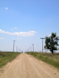 The Jericho Gap Road is now County Road B, west of Highway 70, about one mile south of I-40,