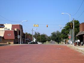 McLean, Texas Main Street