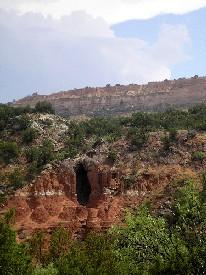 Palo Duro Canyon Cave