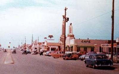 Shamrock Texas 1950s Postcard