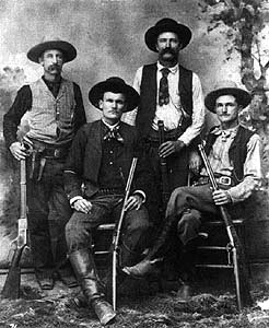 Texas Rangers in Presidio County, El Paso district, in 1890