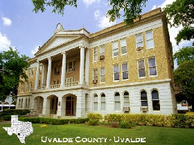 Uvalde County Courthouse, courtesy Texas Courthouses.com