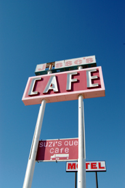 Jesse's Cafe Sign, Wildorado, Texas
