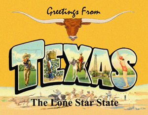 Greetings From the Lone Star State