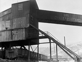 Blue Blaze Coal Mine, Consumers, Utah, 1936