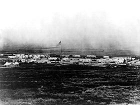 Camp Douglas, Utah, 1866.