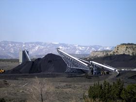 Active coal mining in Carbon County, Utah