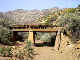 Railroad Bridge in Sego Canyon, Utah