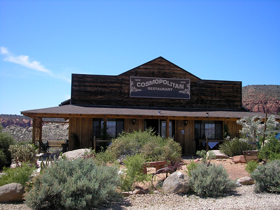 Cosmopolitan Restaurant, Silver Reef, Utah