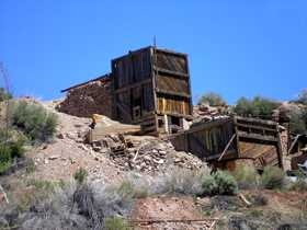 Mine in Silver Reef, Utah