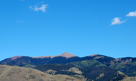 Baldy Mountain near Eagle Nest, New Mexico.