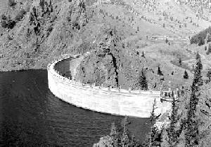 Eagle Nest Dam 1922