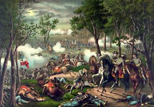 Battle of Chancellorsville, Virginia