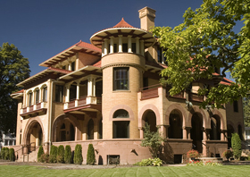 Patsy Clark Mansion, Spokane, Washington