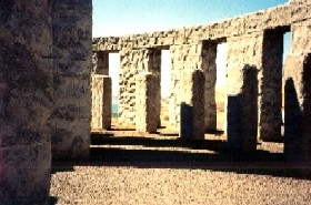 Stonehenge Replica in Maryhill, Washington