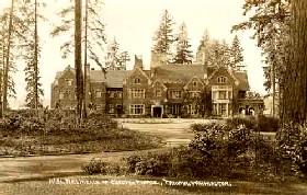 Thornewood Castle Vintage Postcard