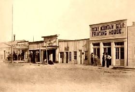 Cheyenne, Wyoming, 1868.