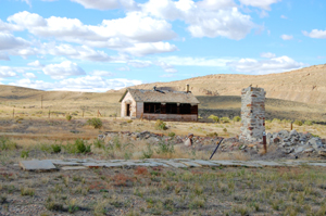 Fort Fred Steele, Wyoming Buildings, Sept 2009, Kathy Weiser