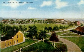 Fort Russell, Cheyenne, Wyoming