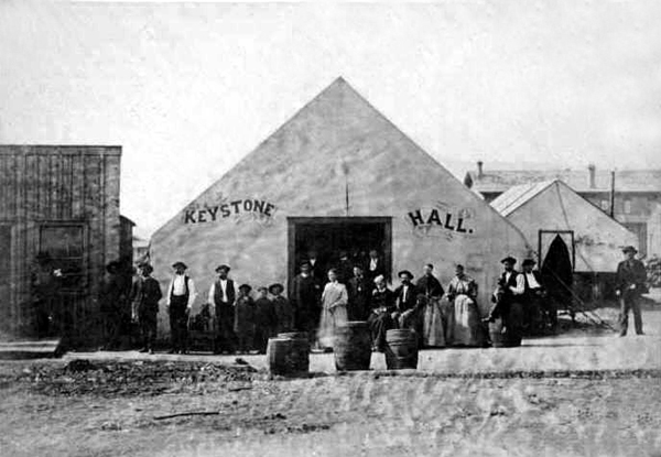 Old West Saloons Vintage Photographs Nevadaville Colorado